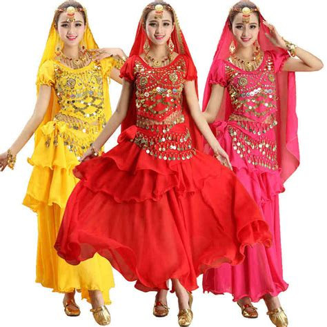 Indian Belly Kostum 3 Pcs popular dresses india buy cheap dresses