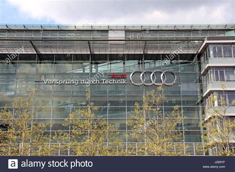 audi germany headquarters audi museum ingolstadt stock photos audi museum
