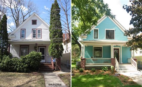 before after eco friendly renovation of a historic home