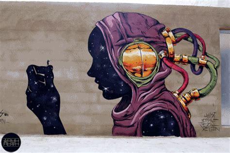 ironys  mural blaze  london