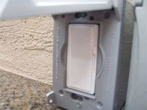 Outdoor Wiring Electrical Online Outdoor Light Switch Cover