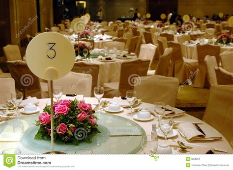 banquet table setup wedding banquet table setting stock image image 803051