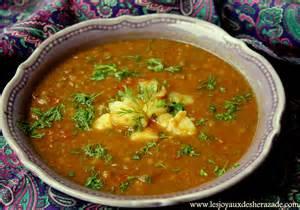 soupe aux lentilles les joyaux de sherazade