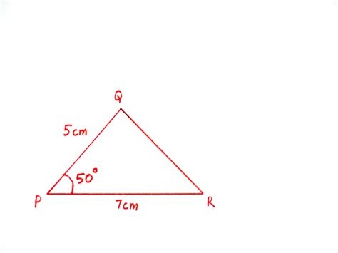 construct a triangle how to construct a triangle when two sides and the