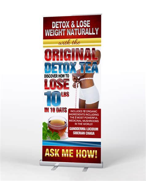 Vida Divina Detox Tea Reviews by Original Detox Tea Retractable Banner Economy Corral Designs