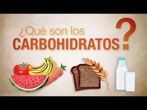 son los carbohidratos youtube