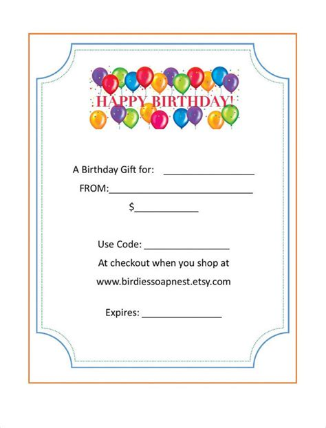 gift certificate template free download clip art free