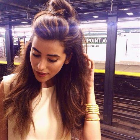half trend the half bun hairstyle trend 2015 7 the fashion tag blog
