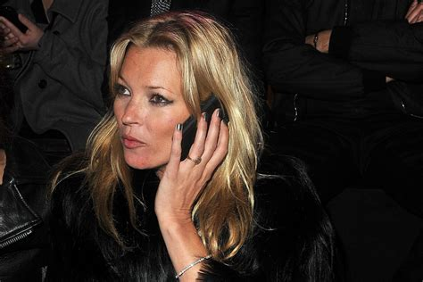 Kate Moss Must Submit A Test To Visit Us by Kate Moss To Shill Mobile Accessories For Carphone Uk