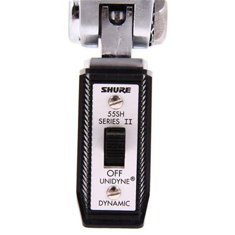 Shure 55sh Series Ii Vocal Microphone shure 55sh series ii vintage dynamic vocal microphone