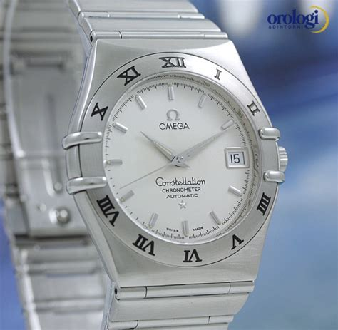 Le Vintage 1201 by Omega Constellation Chronometer Acciaio Ref 368 1201
