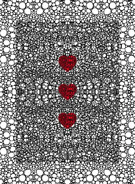 black heart pattern pattern 34 heart art black and white exquisite