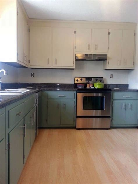 Milk Paint On Kitchen Cabinets Linen And Basil Kitchen Cabinets General Finishes Design Center