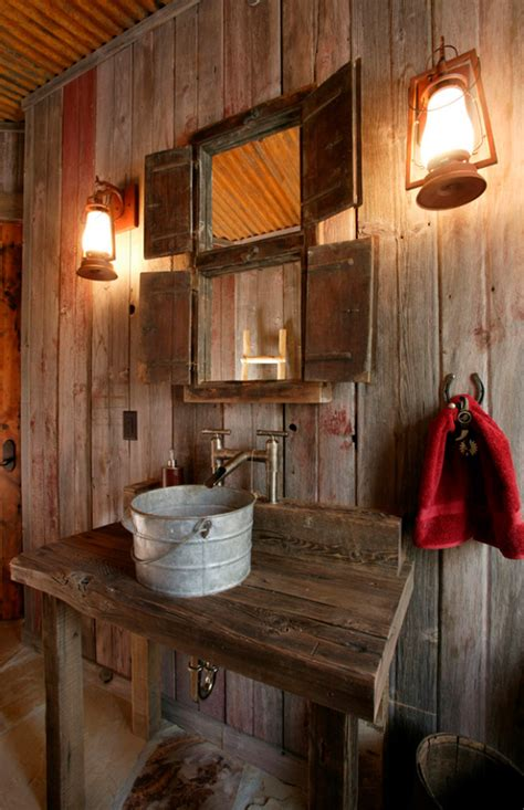 Barn Light Bathroom 51 Insanely Beautiful Rustic Barn Bathrooms