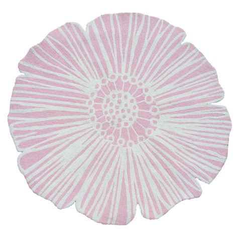 flower of rug pink flower rug by the rug market rosenberryrooms