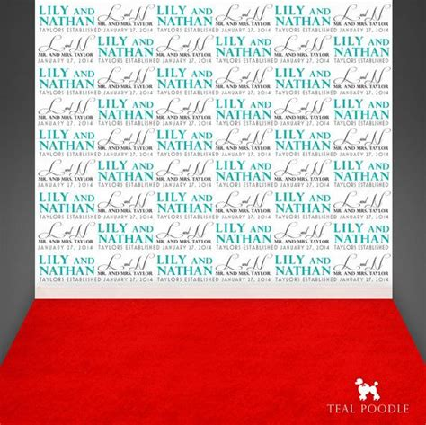 custom wedding step and repeat backdrop for red carpet custom wedding step and repeat backdrop for red carpet event