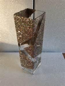 Mod Podge Glitter Vase by Funky Edge Glitter Mod Podge Vase Glitter Crafting