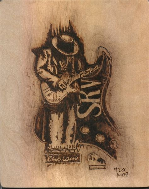 stevie ray vaughan tattoo stevie vaughn i just his and had to