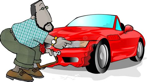 wrecked car clipart wrecked car stock illustration illustration of work