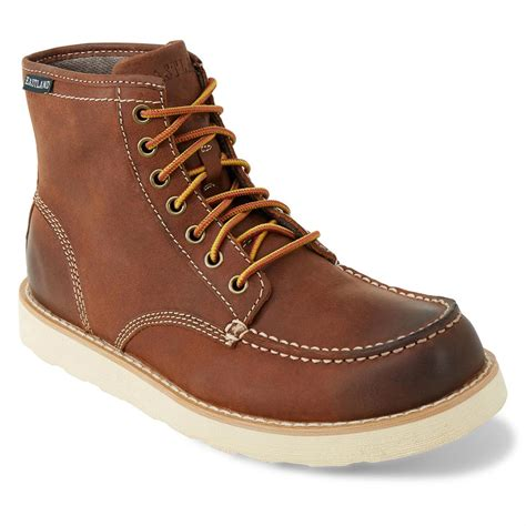 eastland work boots eastland lumber up casual boots 662698 casual shoes at