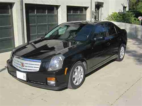 2007 cadillac cts black buy used 2007 cadillac cts black on black tinted