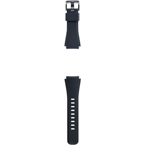 New Arrival Samsung Gear S3 Active Silicon Black Original Prom samsung silicon band for gear s3 black et ysu76mbegus b h