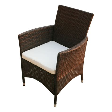Vidaxl Co Uk Vidaxl Brown Poly Rattan Garden Furniture Poly Wicker Outdoor Furniture