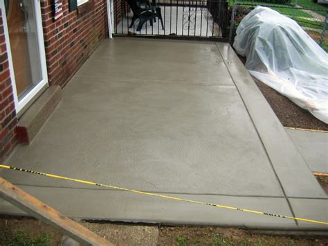 How Much Concrete For A Patio by Concrete Patio Concrete Paving Contractor Talk