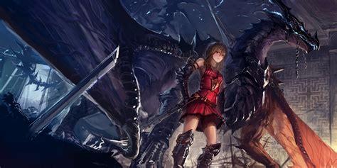 wallpaper anime warrior anime girls dragon warrior wallpaper anime wallpaper