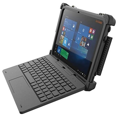 rugged with keyboard rugged 2 in 1 tablet laptop flex10a windows 10 professional with keyboard