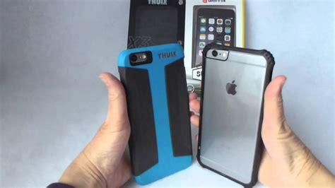 Thule Atmos X3 Iphone 6 thule atmos x3 vs griffin survivor for iphone 6 plus