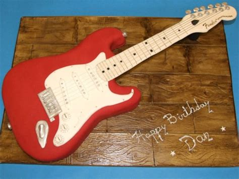 fender guitar cake template 12 exceedingly musical instrument cakes fender