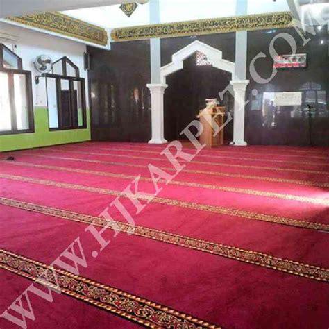 Karpet Masjid Di Tegal pemasangan karpet masjid baitul hidayah tegal hjkarpet