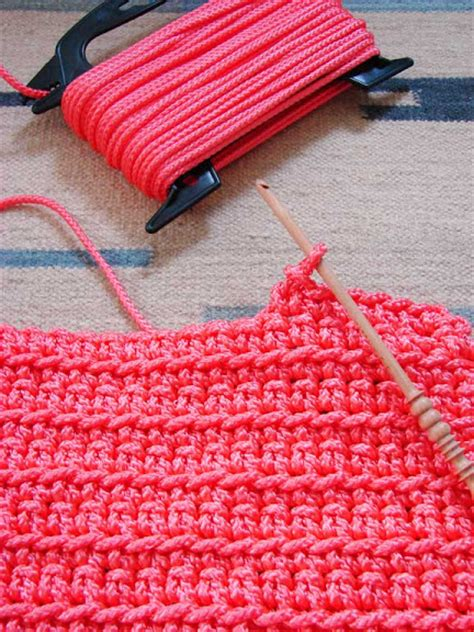 how to store rugs use rope from home depot to crochet outdoor rug