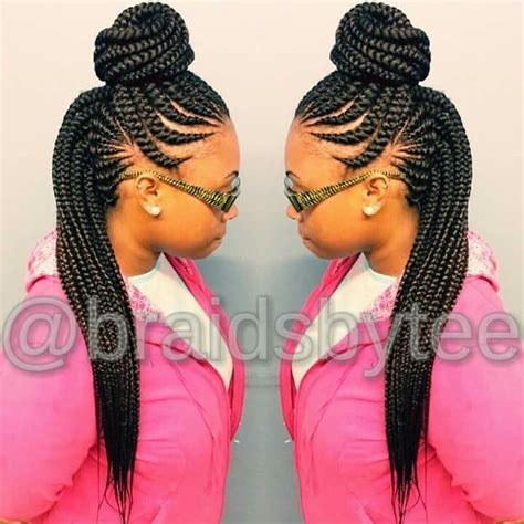 the half braided hairstyles in africa ghana braids in a top bun hairstyles haircuts