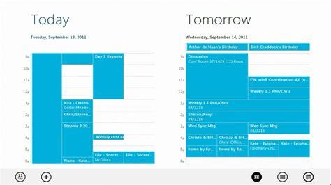 Calendar App Windows A Closer Look At Windows Live Metro Style Apps On Windows