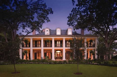southern plantation home db architectural designs house plans