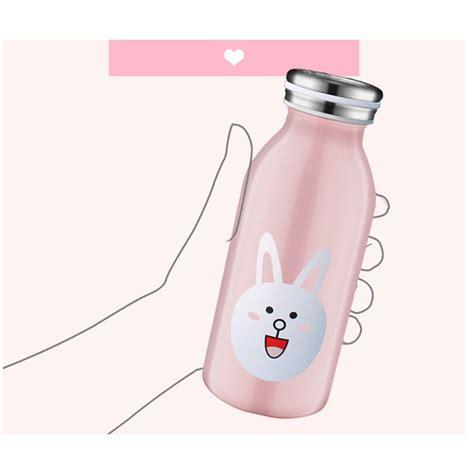 Botol Minum Stainless Steel Belen 350ml botol minum stainless steel anak gambar kartun 350ml white jakartanotebook