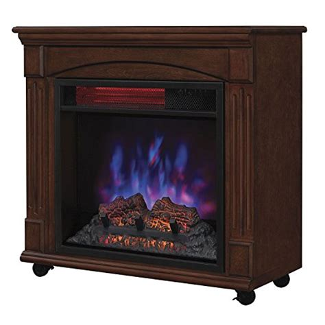 Rolling Fireplace by Powerheat Rolling Electric Fireplace Home Decor