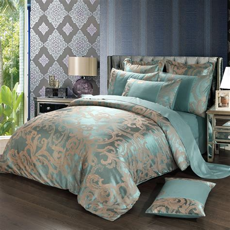 luxury king bedding luxury bedding set 4pcs king size duvet cover quilt bed
