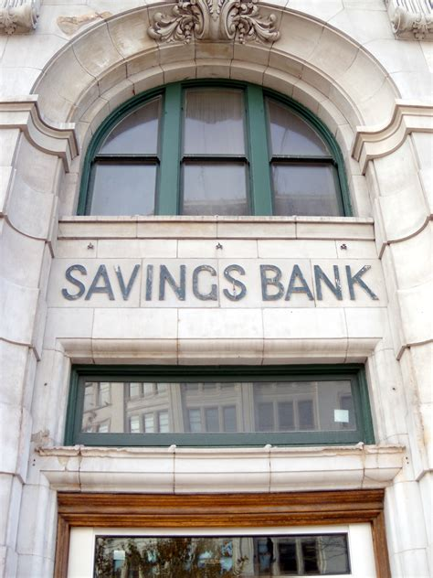 File Savings Bank Signage On Union Bank Building In