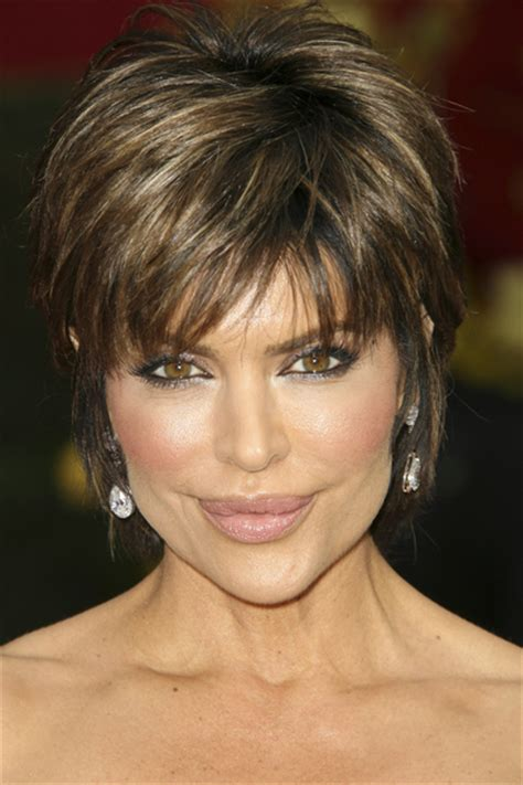 rinna hairstyle lisa rinna short hairstyle for thick hair long hairstyles
