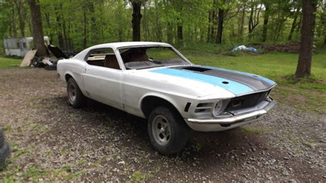1970 mustang mach 1 parts 1970 ford mustang sportsroof fastback project car includes