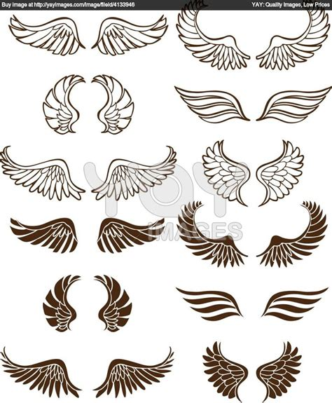 tattoo angel vector 71 best images about wings on pinterest crests free