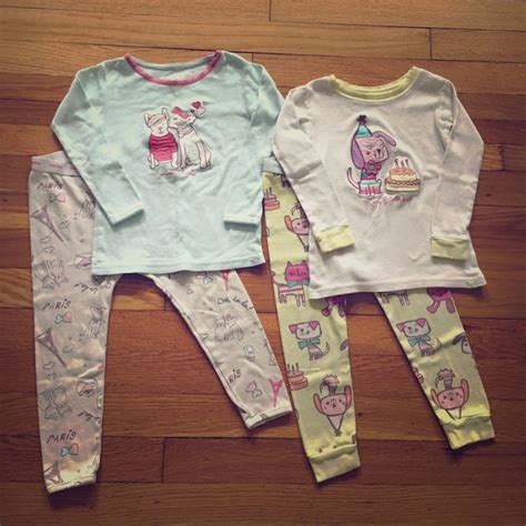 Gap Pajamas 3 30 gap other 2 years baby gap cotton doggie pajama sets from suggester user