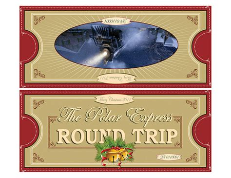 printable minivan express tickets printable polar express tickets polar express