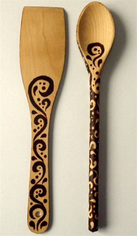 Pyrography Spoons 365 Days Of Crafts Inspiration - 1000 images about wood b spoons on