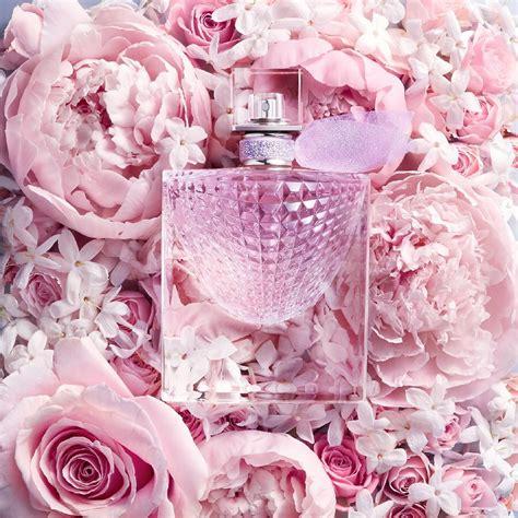 la vie est belle flowers  happiness lancome perfume