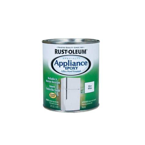 walk in freezer floor paint rust oleum specialty 1 qt white gloss appliance paint