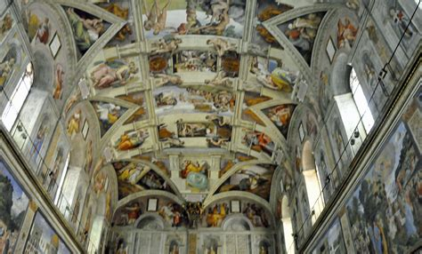 Sistine Chapel Ceiling Layout by The Sun And The Moon